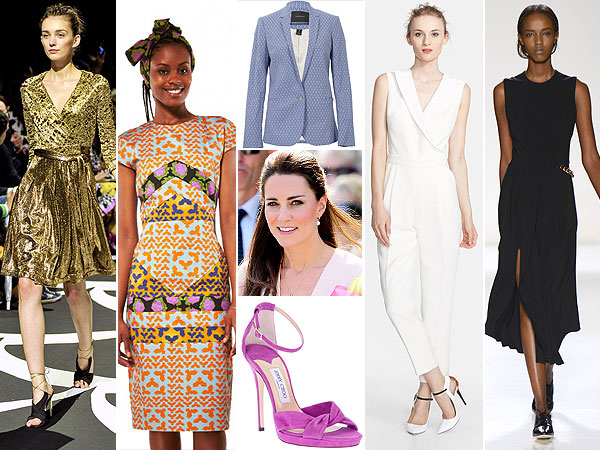 Kate Middleton wardrobe inspiration board