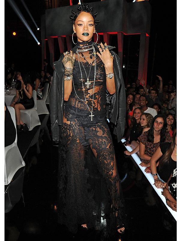 Rihanna iHeart Radio outfit
