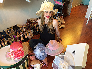 Go Inside Tara Lipinski's Derby Hat Fitting – Plus, Johnny Weir's Reactions! | Tara Lipinski