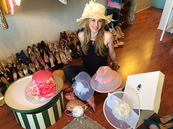 Tara Lipinski Kentucky Derby hats