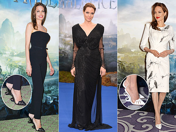 Angelina Jolie Maleficent tour