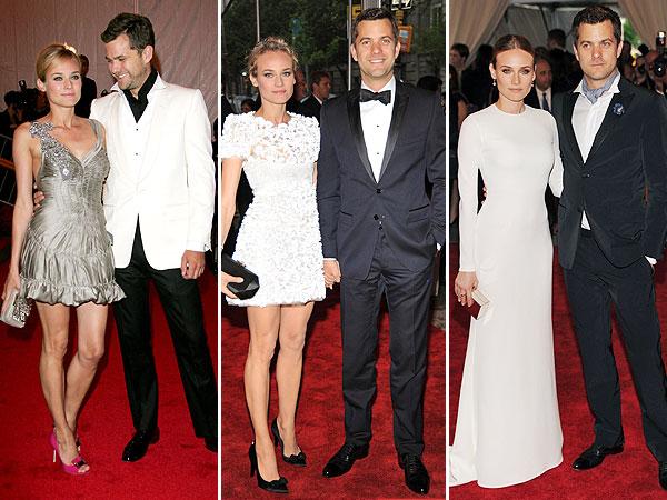 Diane Kruger and Joshua Jackson Met Gala