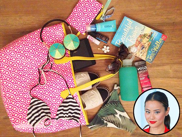 Jamie Chung Beach Bag