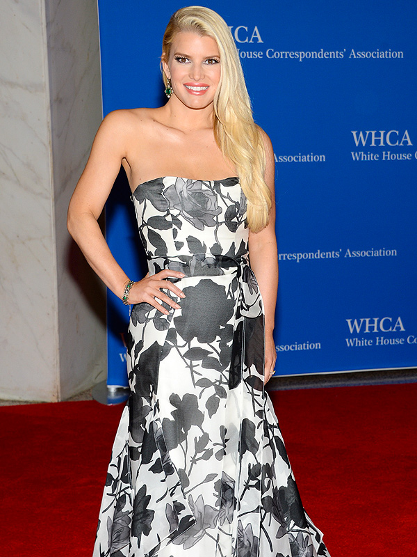 Jessica Simpson White House Correspondents' Dinner