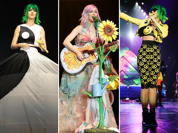 Katy Perry tour outfits