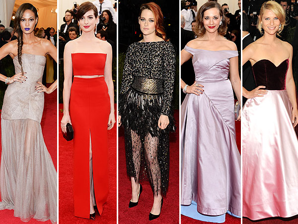 Met Gala 2014 outfit changes