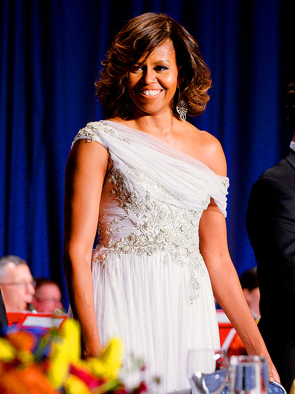 Michelle Obama Marchesa Gown