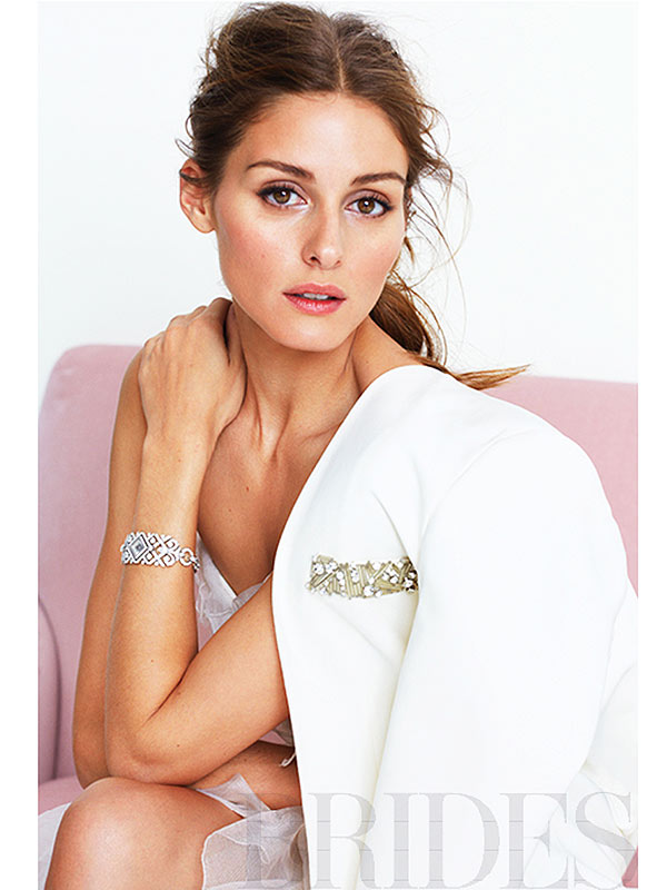 fashion news olivia palermo models wedding dresses brides magazine june pictures