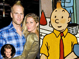 Is Tom Brady Channeling Tintin with His New Hairdo? | The Adventures of Tintin, Gisele Bundchen, Tom Brady