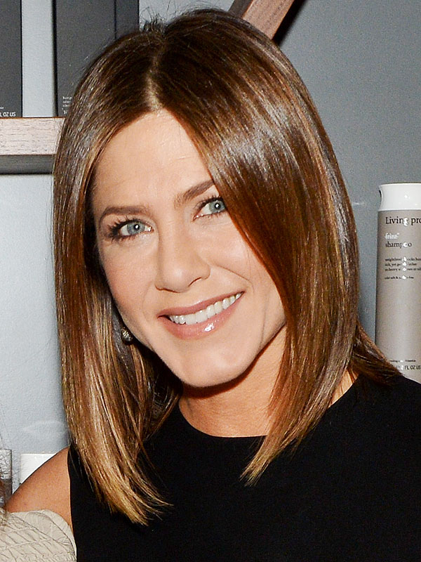 Jennifer Aniston Brunette Hair, Jennifer Aniston Living Proof