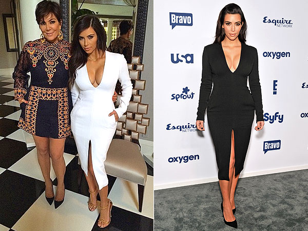 Kim Kardashian Wes Gordon dress