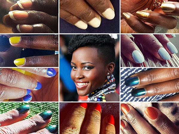 Lupita Nyong'o Manicures