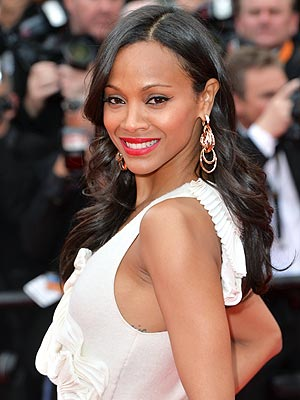 Zoe Saldana hair tips Chica magazine