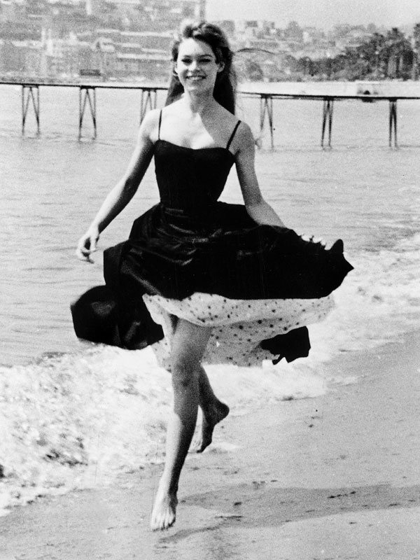 Brigitte Bardot Vintage Cannes Photos
