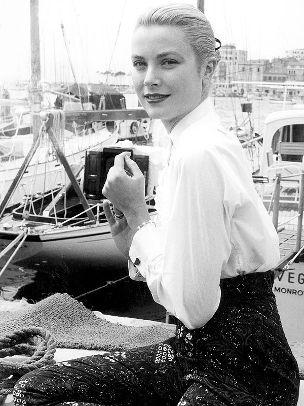 Grace Kelly Vintage Cannes Photos