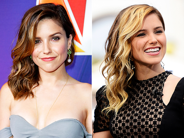 Sophia Bush blonde