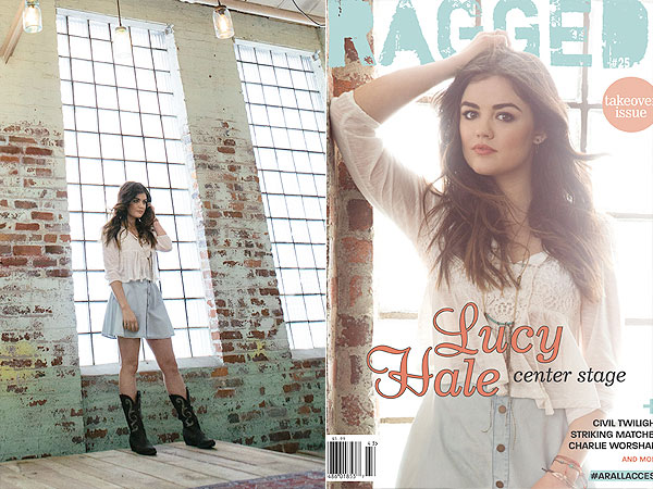 Lucy Hale Ragged