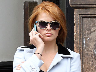 Margot Robbie's a Redhead – Her Third Hair Color in 6 Months!