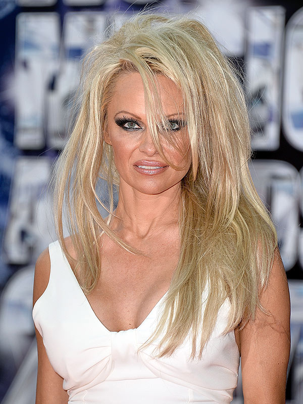 Pamela Anderson long hair