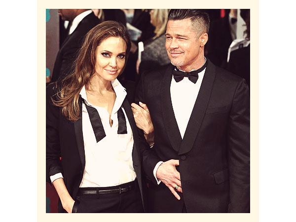 Angelina Jolie and Brad Pitt 2014