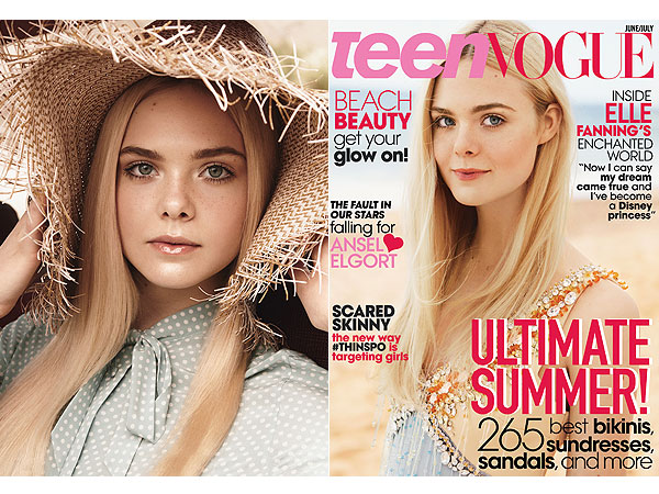 Elle Fanning Teen Vogue