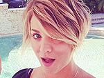 Kaley Cuoco Chops Off Hair, Feels Like 'Peter Pan' (PHOTO)