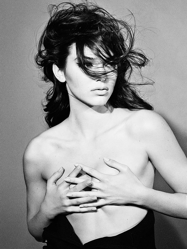 Kendall Jenner topless Interview magazine