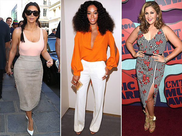 Trend report: bodysuits, white pants