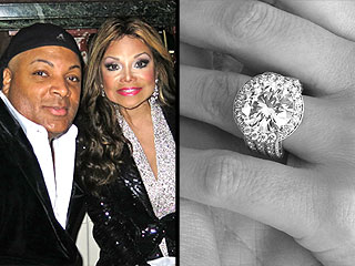 PHOTO: See La Toya Jackson's Enormous 17.5-Carat Engagement Ring