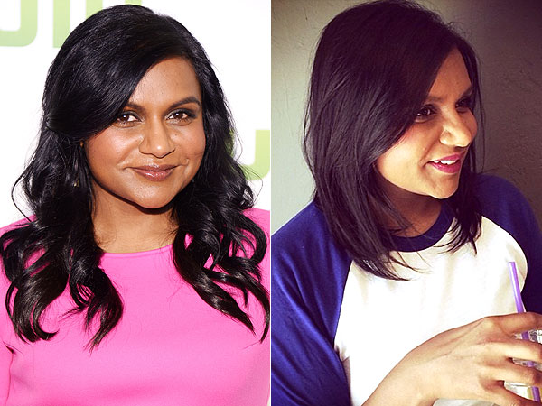 Mindy Kaling short cut Instagram