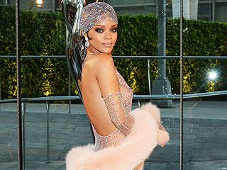 Rihanna Bares Just About All in Sheer Sparkly Gown at CFDA Awards