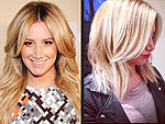 Ashley Tisdale Cuts Her Signature Long, Blonde Waves Into a Sexy New Crop | Ashley Tisdale