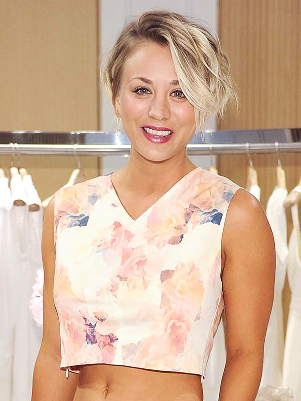Kaley Cuoco talks haircut