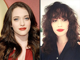 Kat Dennings Cuts Some Sassy New Bangs – See Her New Look! | StyleWatch, Kat Dennings