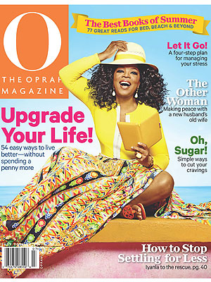 O Magazine July issue