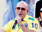 World Cup Style: Pitbull's Cropped 'Mom' Pants Explode on Twitter | World Cup 2014, StyleWatch, Pitbull