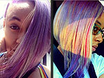 Raven-Symoné Shaves Half Her Head, Dyes the Other Half Rainbow Colors | Raven-Symone