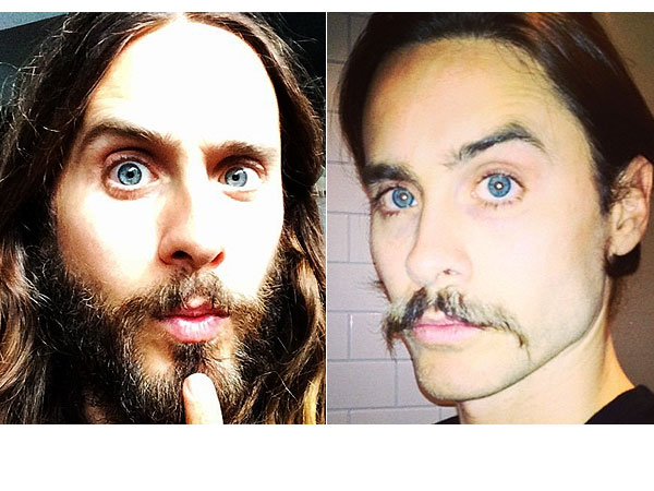 Jared Leto shaves beard