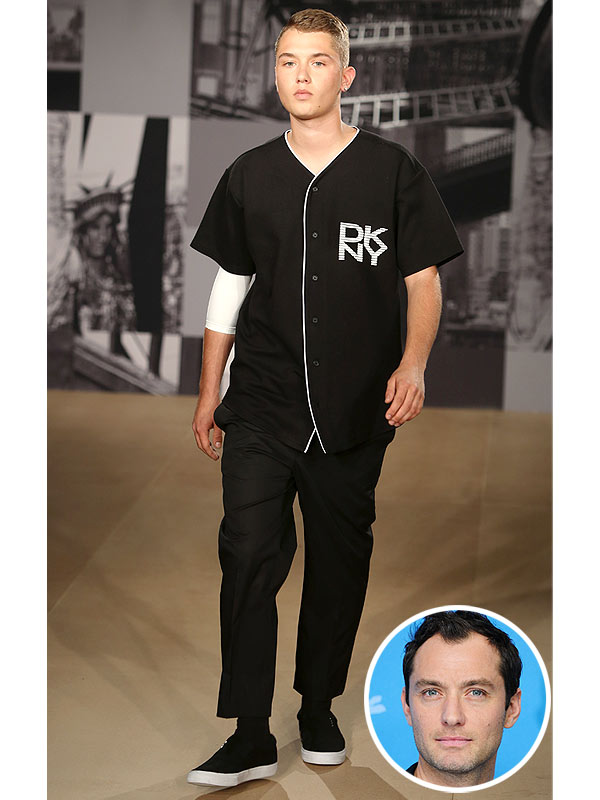 Rafferty Law DKNY Runway Jude Law