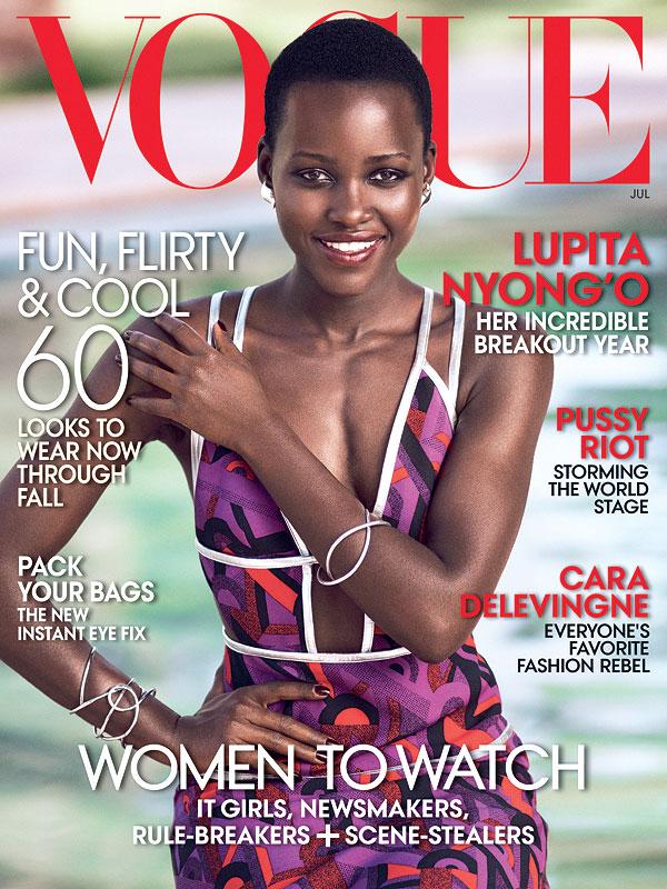 Lupita Nyong'o Vogue Cover