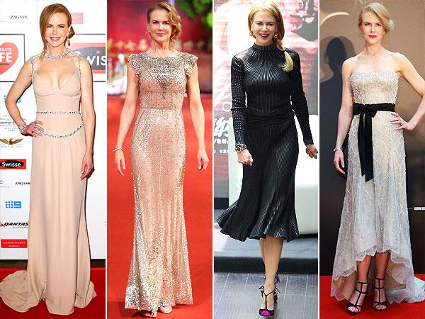 Nicole Kidman gowns
