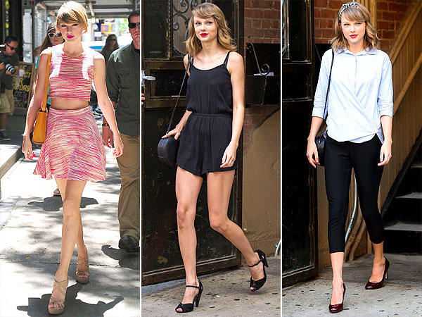 Taylor swift summer street style