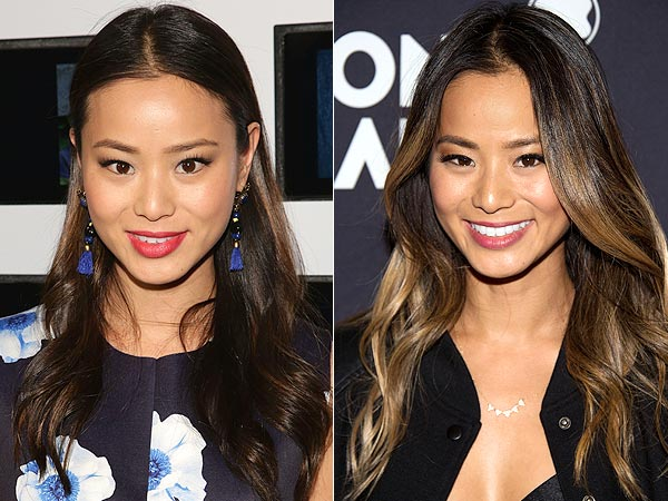 Jamie Chung Blonde Highlights