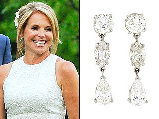 Katie Couric's Wedding Jewelry –All the Details!