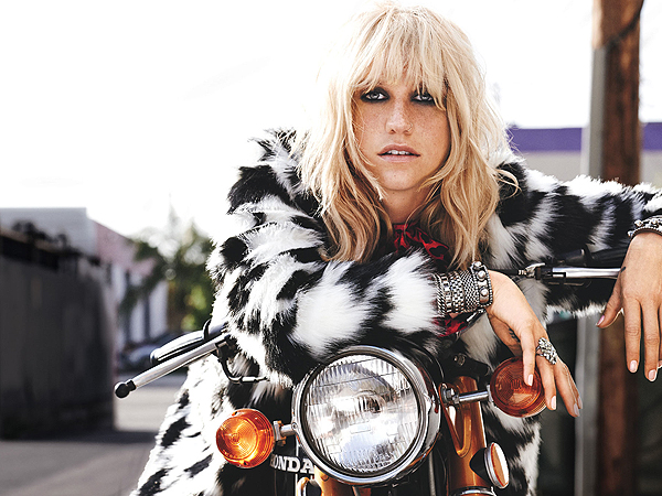 Kesha Teen Vogue