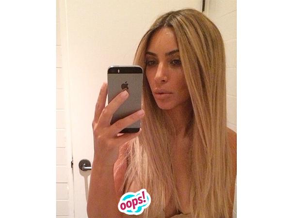 Kim Kardashian nipple pic