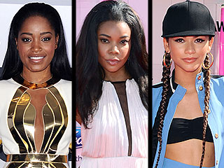 Keke Palmer's Super-Sexy Dress, Pharrell's Wardrobe Malfunction and More BET Awards Style