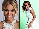 Ciara Poses in Gorgeous Wed