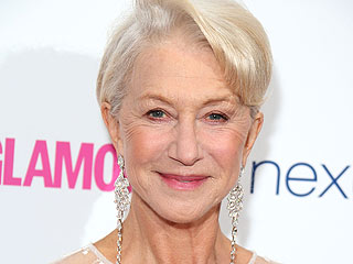Helen Mirren: On Cutting Her Own Hair and Wearing Red Lipstick at Age 68