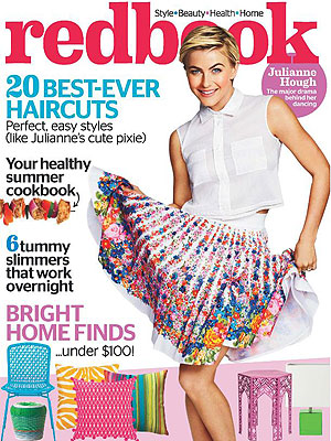 Julianne Hough Redbook